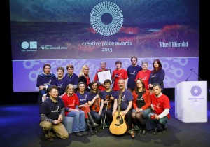 The Creative Place Awards at the Byre Theatre, St Andrews